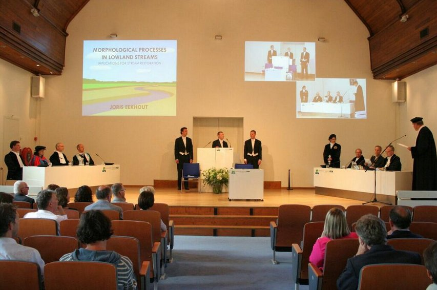 PhD defence Joris Eekhout