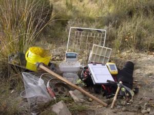 Fieldwork equipment